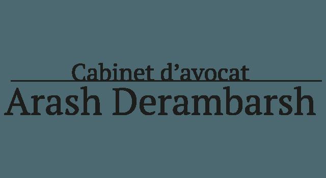 arash derambarsh avocat logo